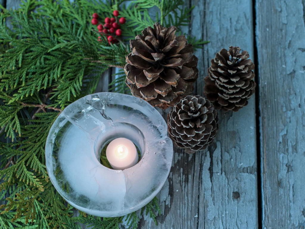 ice lantern christmas craft ideas