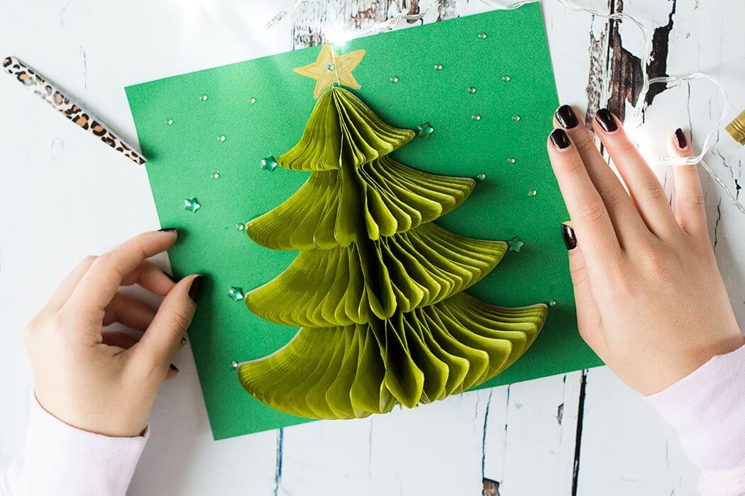 pop up christmas card ideas