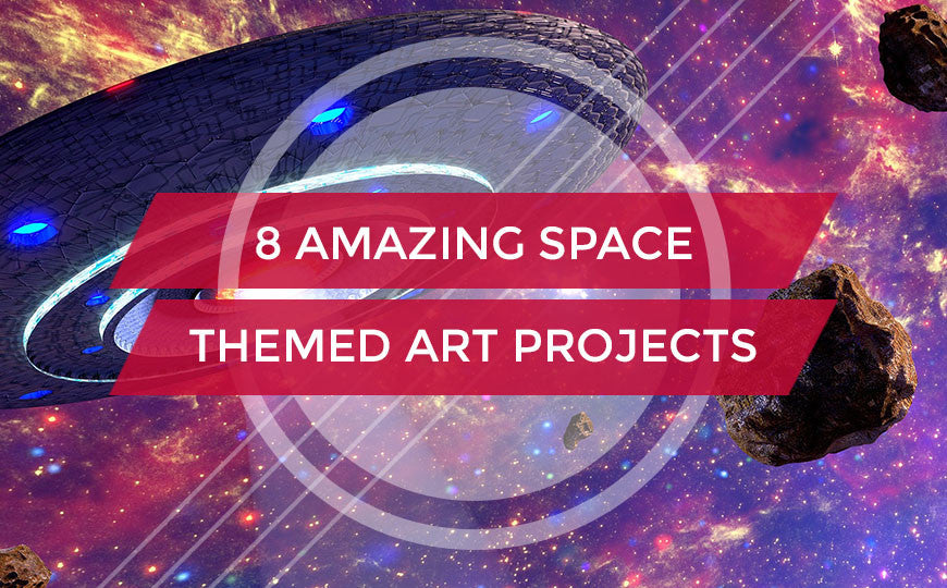space themed art projects