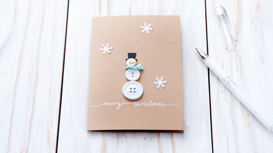 snowman christmas card ideas