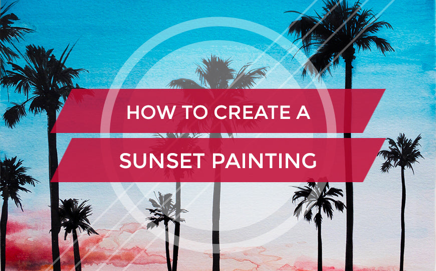 Sunset Painting Blog Cover