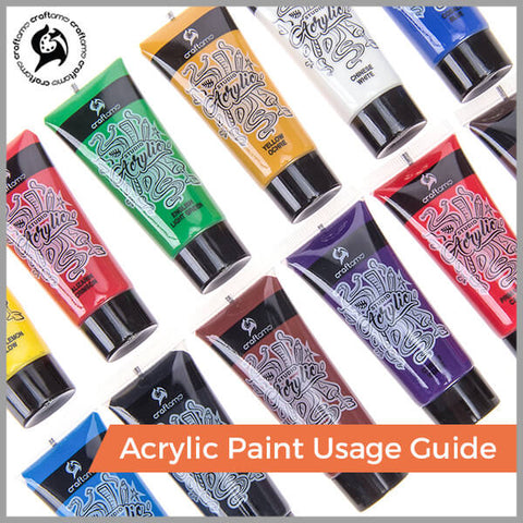 Acrylic Paint Usage Guide
