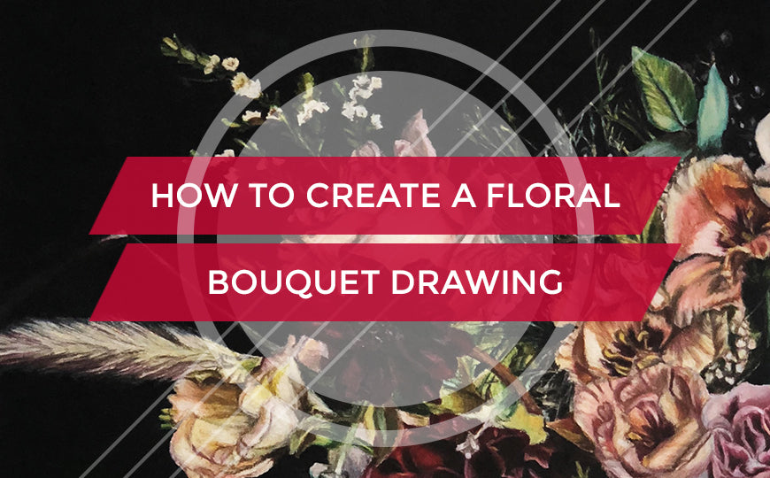 How to Create a Floral Bouquet Drawing