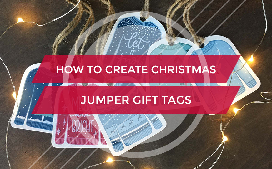 How to Create Christmas Gift Tags