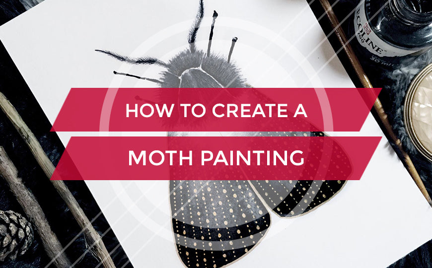 How to Create a Moth Painting