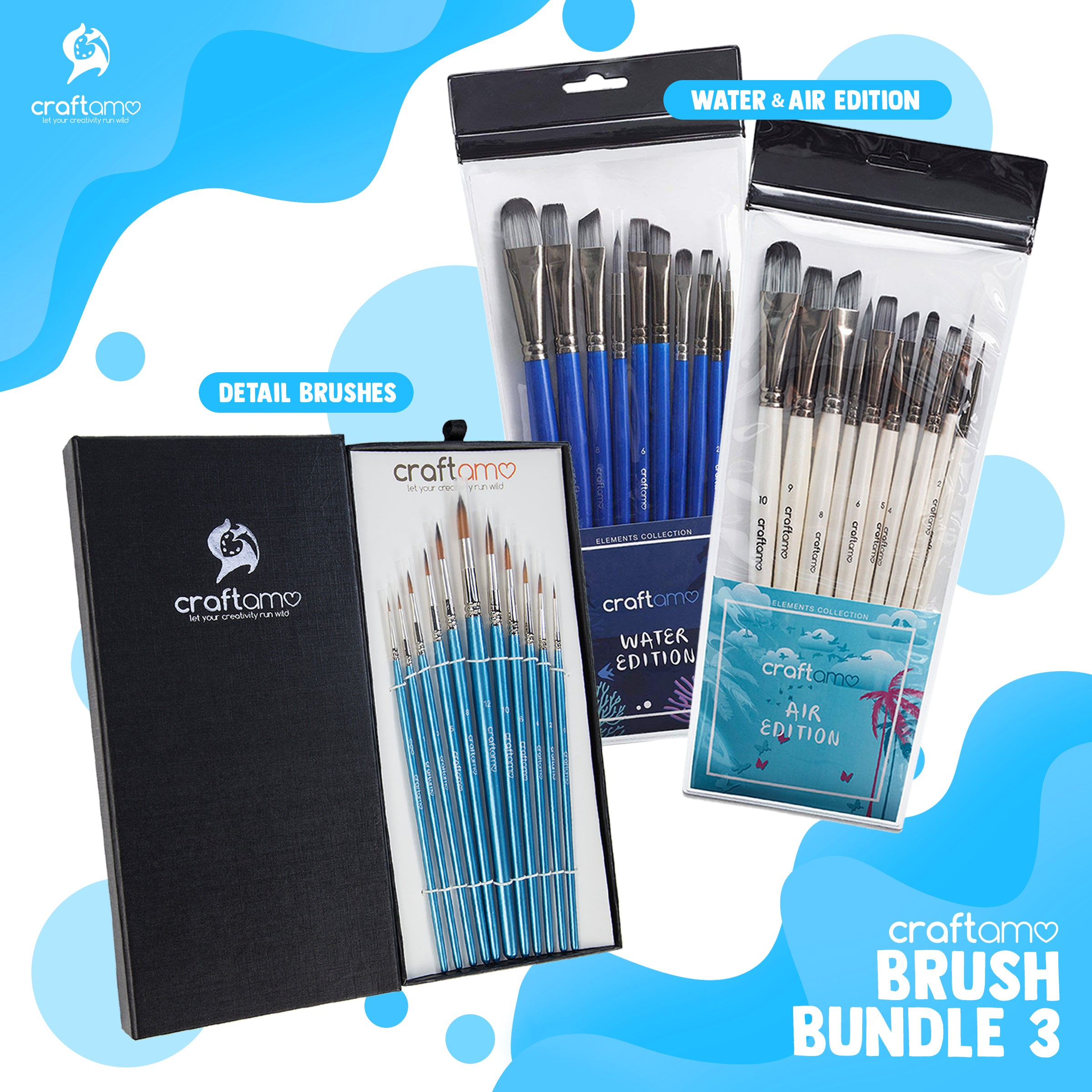 BRUSH BUNDLE 3