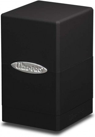 Ultra Pro: Black Satin Tower Deck Box