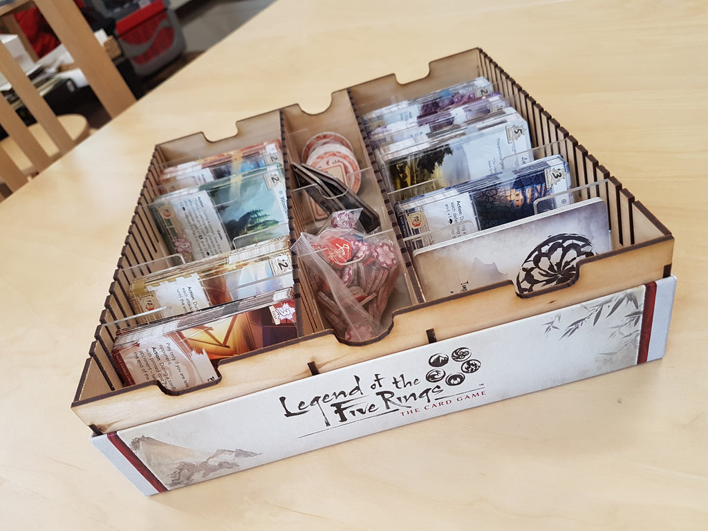 Wellplayed Lazor: FFG Games Box Insert Veneer (Sleeved/Unsleeved)