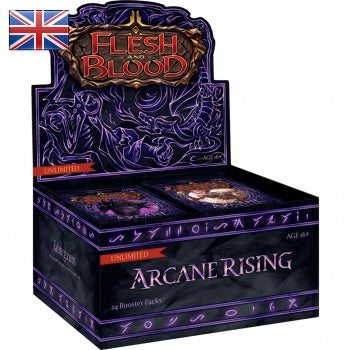 Flesh and Blood: Arcane Rising - Unlimited Booster Display (24 Packs) (engl.)  - Preorder