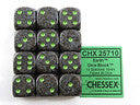 Chessex: Earth - 12 x D6 Set (16mm, pip)