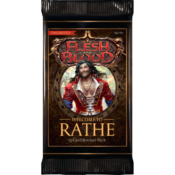 Flesh and Blood: Welcome to Rathe - Unlimited Booster Display (24 Packs) (engl.)