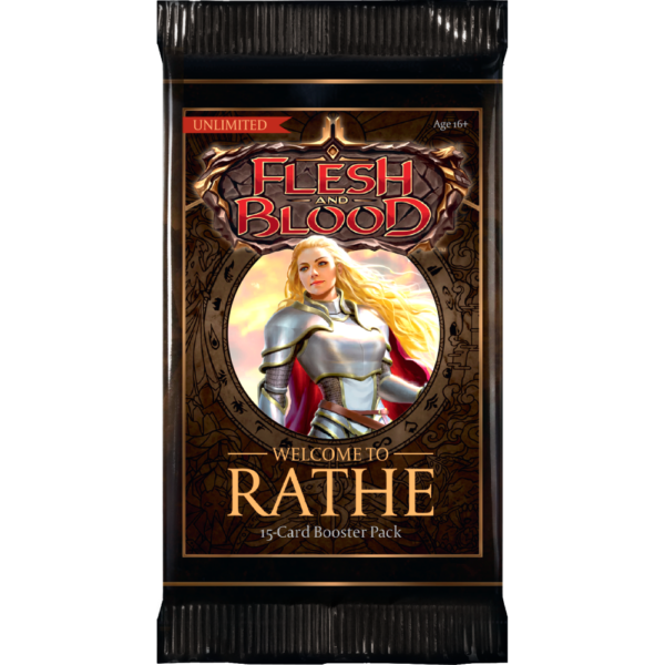 Flesh and Blood: Welcome to Rathe - Unlimited Booster Display (24 Packs) (engl.)  - Preorder