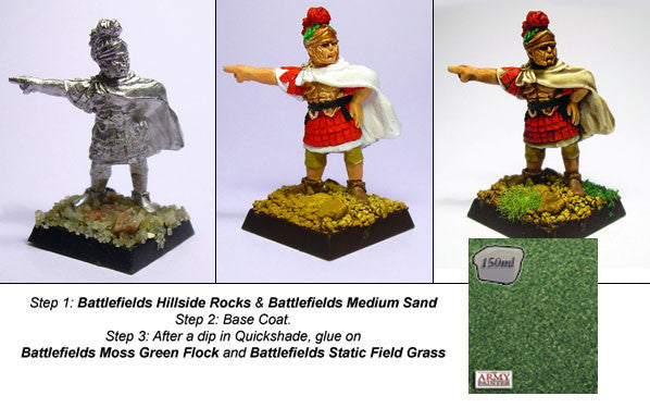 The Army Painter: Battlefields Moss Green basing