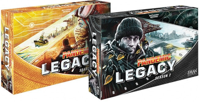 Pandemic Legacy Season 2 (engl.)
