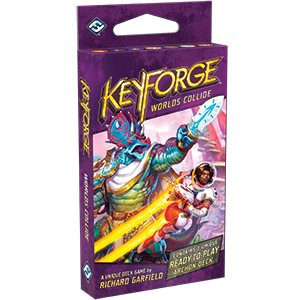 Keyforge: Worlds Collide Deck DISPLAY (12 Decks) (engl.)