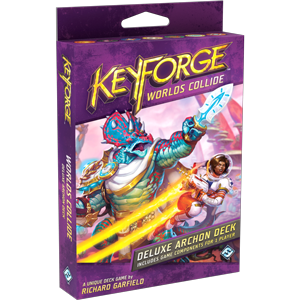 Keyforge: Worlds Collide DELUXE Deck (engl.)