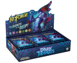Keyforge: Dark Tidings Deck DISPLAY (12) (engl.)