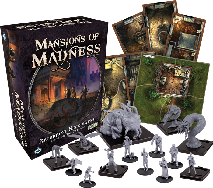 Mansions of Madness: Recurring Nightmares Figure and Tile Collection (engl.)