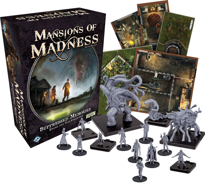 Mansions of Madness: Suppressed Memories Figure and Tile Collection (engl.)