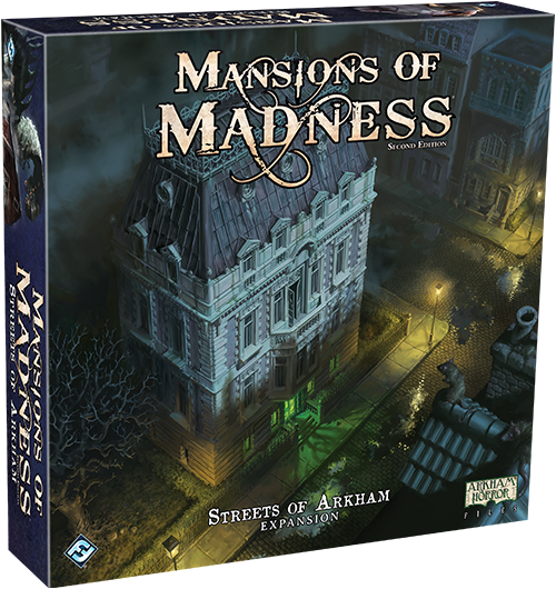 Mansions of Madness: Streets of Arkham (engl.)