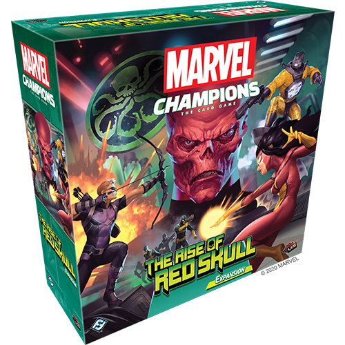 Marvel Champions: The Rise of Red Skull Expansion (engl.) - Preorder