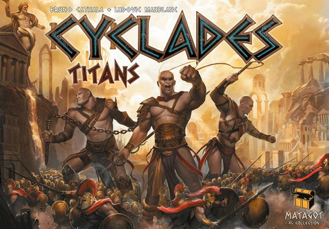 Cyclades: Titans Expansion (engl.)