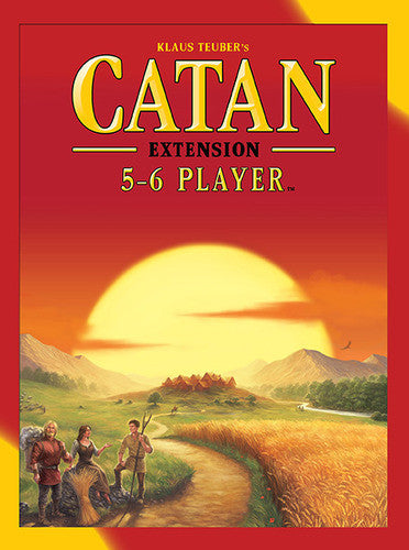 Settlers of Catan 5 & 6 Player Extension (engl.)
