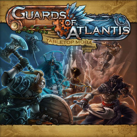 Guards of Atlantis: Tabletop MOBA including Expansion (engl.)