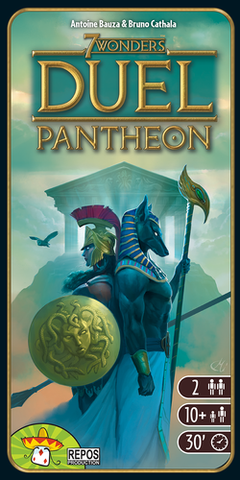 7 Wonders: Duel Pantheon Expansion (engl.)