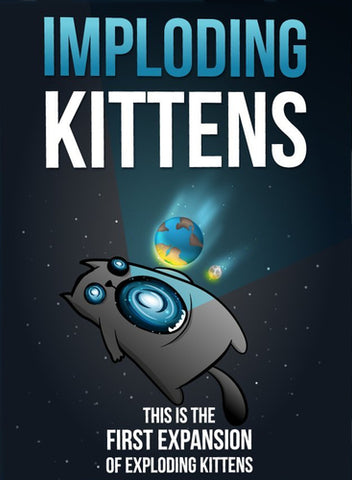 Exploding Kittens: Imploding Kittens Expansion (engl.)