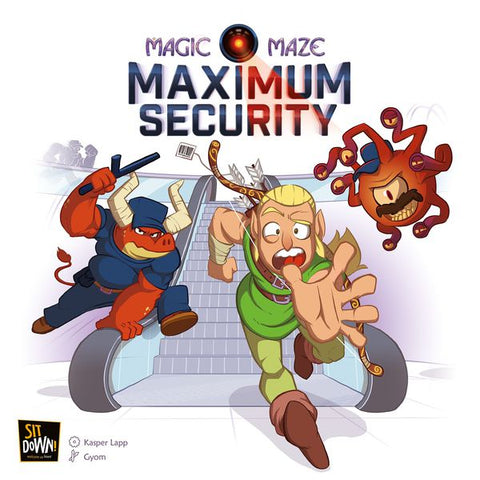 Magic Maze: Maximum Security Expansion(engl.)