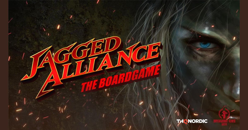 Jagged Alliance: The Board Game (engl.)