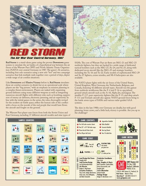Red Storm: The Air War Over Central Germany 1987 (engl.)