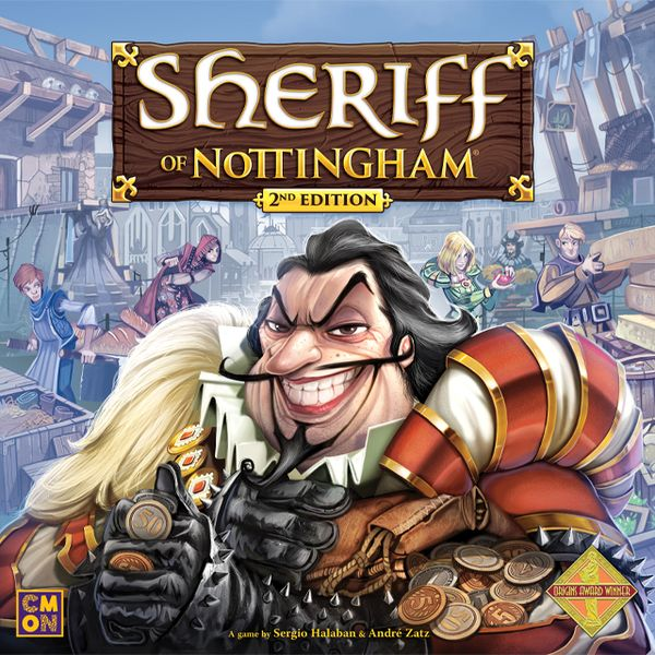 Sheriff of Nottingham Second Edition (english) - Preorder