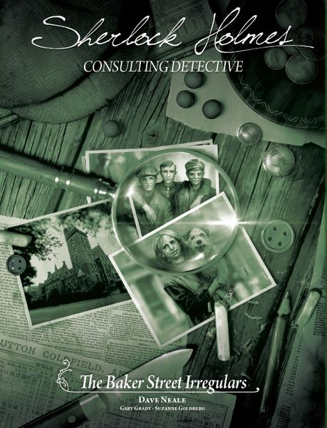 Sherlock Holmes Consulting Detective: The baker Street Irregulars  (engl.)