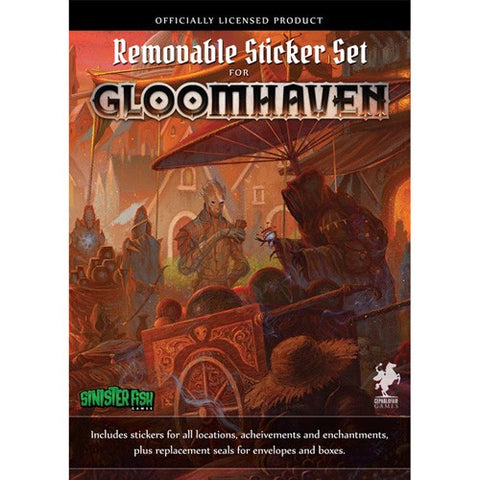 Gloomhaven: Removable Sticker Set (engl.)