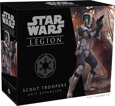Star Wars: Legion - Scout Troopers  (engl.)