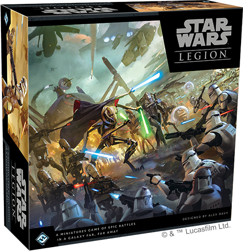 Star Wars: Legion Core Set CLONE WARS (engl.)