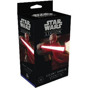 Star Wars: Legion Count Dooku (engl.)