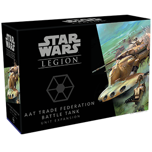 Star Wars: Legion - AAT Trade Federation Battle Tank (engl.)