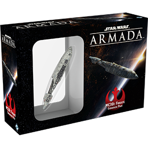 Star Wars: Armada MC30c Frigate (engl.)