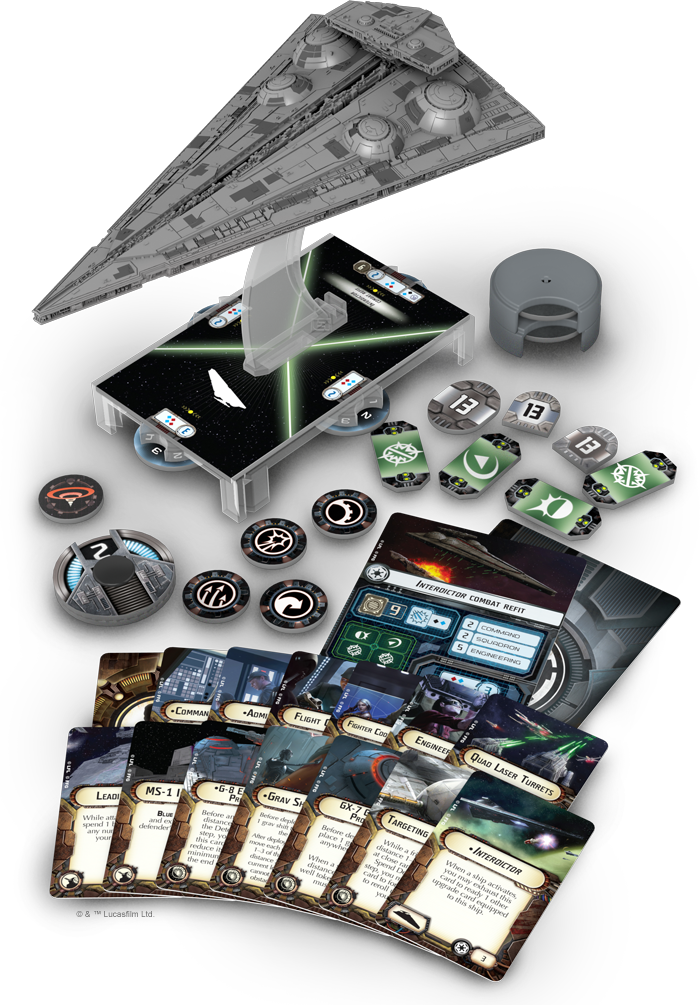 Star Wars: Armada Interdictor (engl.)