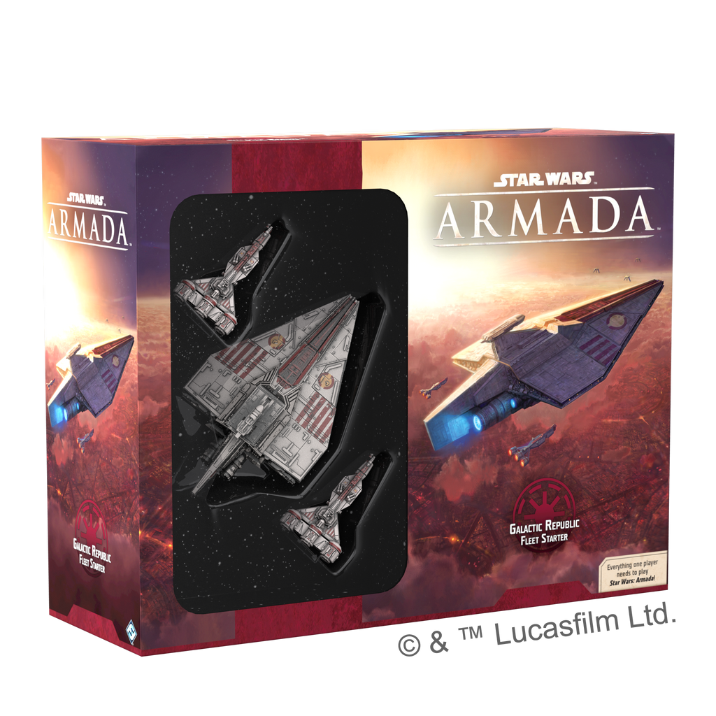 Star Wars: Armada Core Set Republic Fleet Starter (en / de)