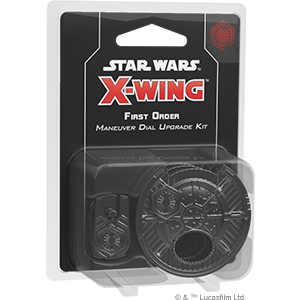 X-Wing: 2nd Ed. First Order  Maneuver Dial Upgrade Kit (deutsch) (engl.) - Preorder