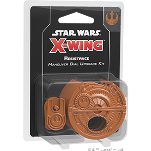 X-Wing: 2nd Ed. Resistance Maneuver Dial Upgrade Kit (deutsch) (engl.)