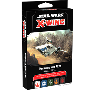 X-Wing: 2nd Ed. Hotshots and Aces Reinforcement Pack (engl.)