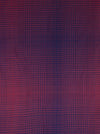 Gradient Checks Twill Weave Viscose Scarf - Fuchsia Purple