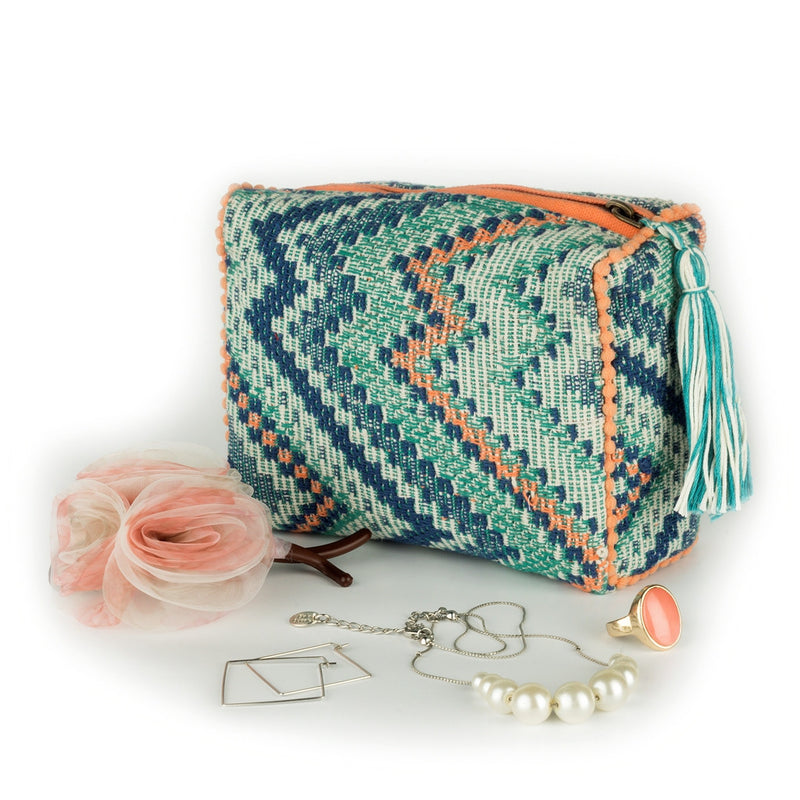 Chevron Love Pouch