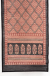Diamond Bagh Hand Block Print Bamboo Wall Hanging - Red Black
