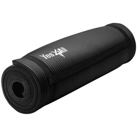 Extra Thick Exercise Yoga Mat with Carry Strap